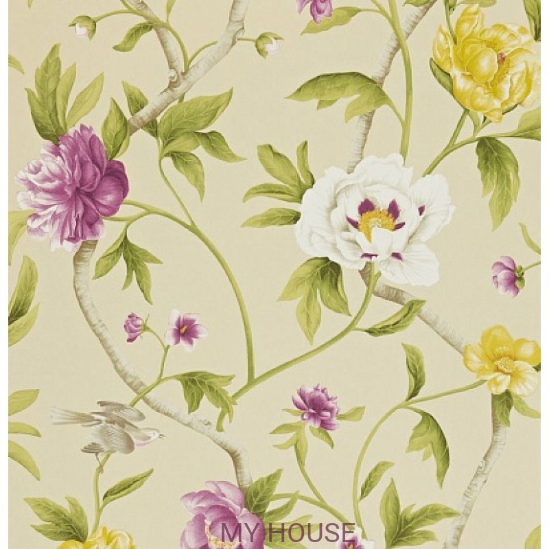 Обои Trade Routes TRA05005 Flowering Tree Zoffany