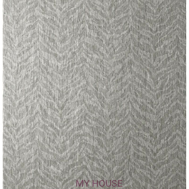 Обои Texture Resource 5 T57169 Bengal Metallic Silver THIBAUT