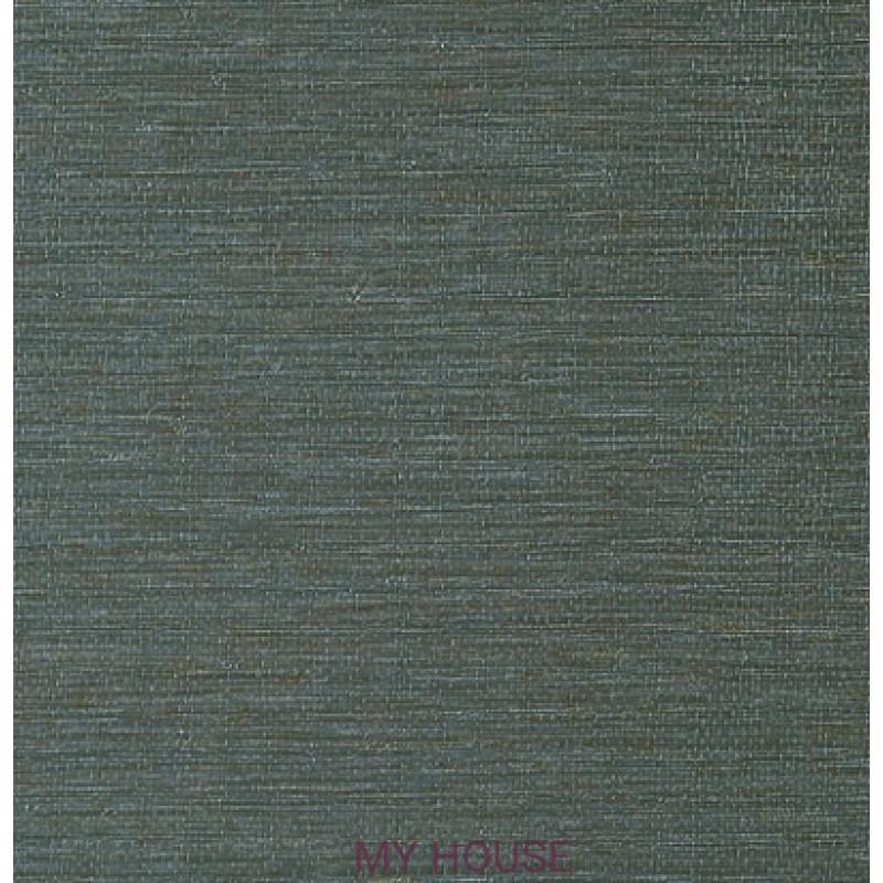 Обои Texture Resource 5 T57187 Arrowroot Slate Blue THIBAUT