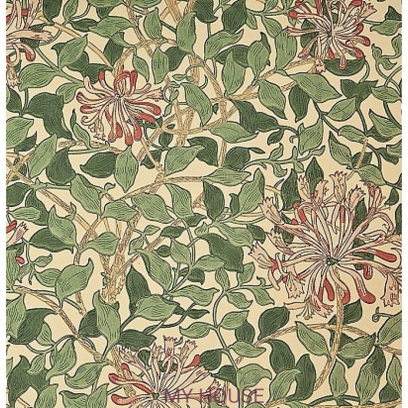 Обои Morris Compendium WM7611-4 Honeysuckle Morris&Co