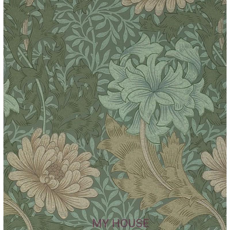 Обои Morris Compendium WM7612-7 Chrysanthemum Morris&Co