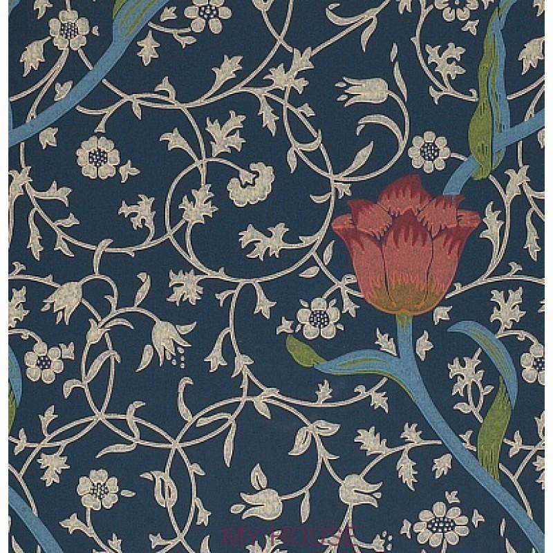 Обои Morris Compendium WM8552-1 Garden Tulip Morris&Co