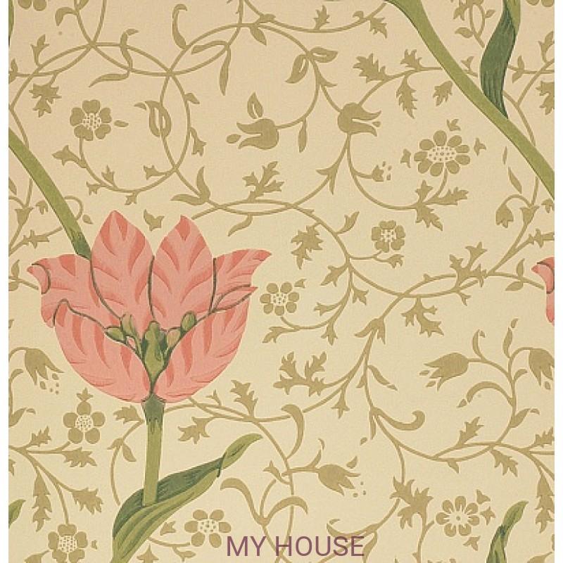 Обои Morris Compendium WM8552-2 Garden Tulip Morris&Co