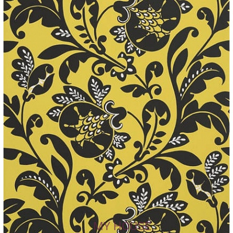 Обои Zola AT34127 Livorette Citron Yellow Anna French