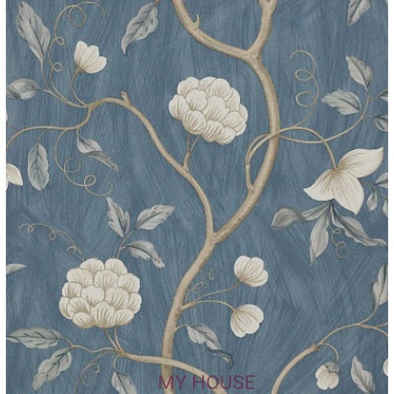 Обои Коллекция обоев Colefax and Fowler 07949-11 Snow Tree Blue