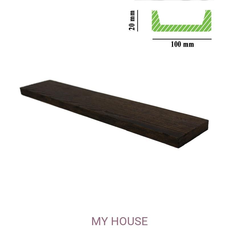 Лепнина Панели ET 507 (2м) темная Classic производства Балки Fabello decor