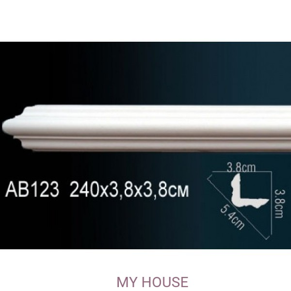 Угол с гладким профилем Perfect AB123