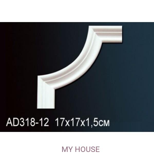 Угловой элемент молдинга Perfect AD318-12