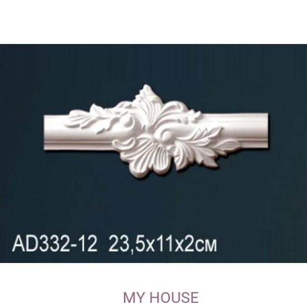 Угловой элемент молдинга Perfect AD332-12