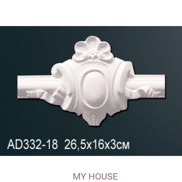 Угловой элемент молдинга Perfect AD332-18