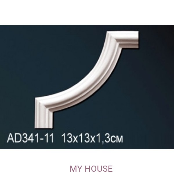 Угловой элемент молдинга Perfect AD341-11