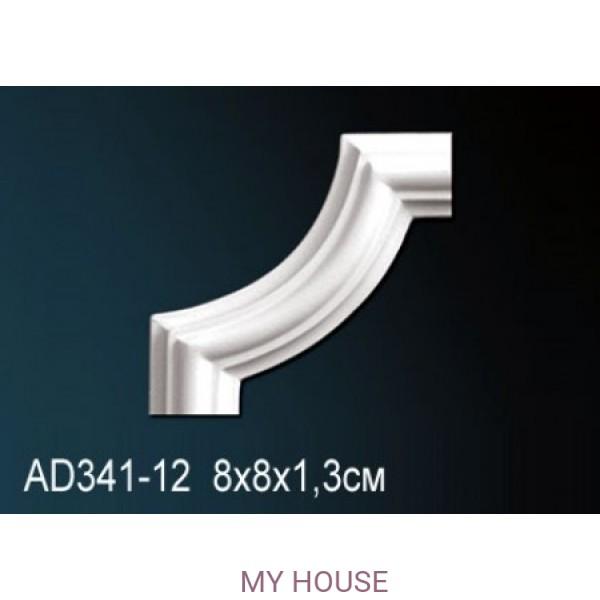Угловой элемент молдинга Perfect AD341-12