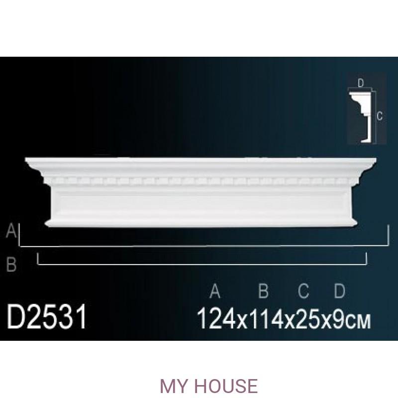 Лепнина Perfect D2531 производства Perfect