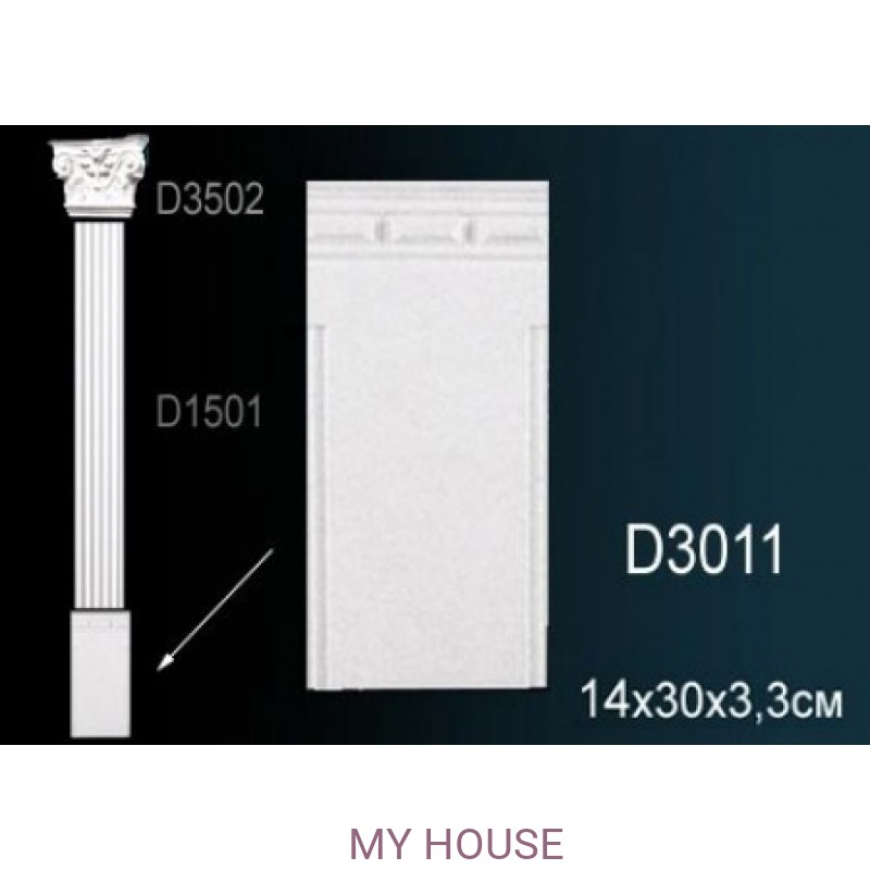 Лепнина Perfect D3011 производства Perfect