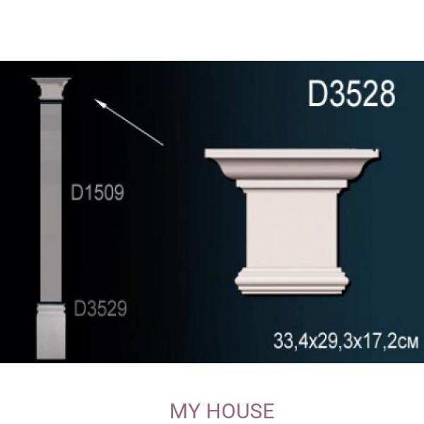 Капитель пилястры Perfect D3528