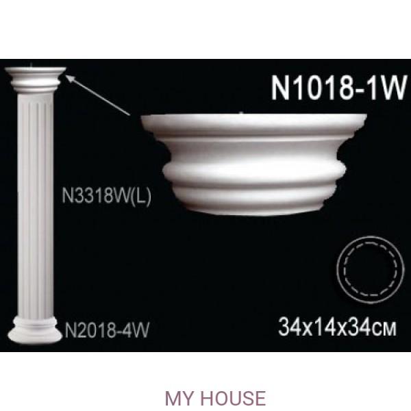 Капитель колонны Perfect N1018-1W