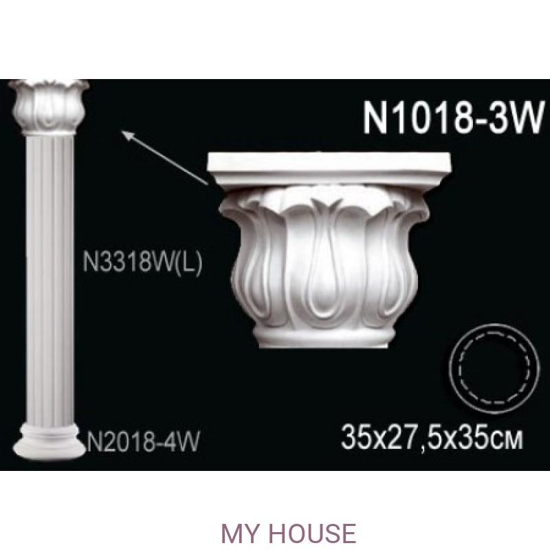 Лепнина Perfect N1018-3W производства Perfect