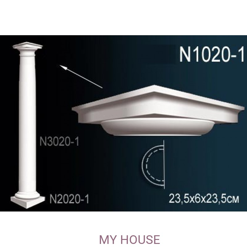 Лепнина Perfect N1020-1 производства Perfect