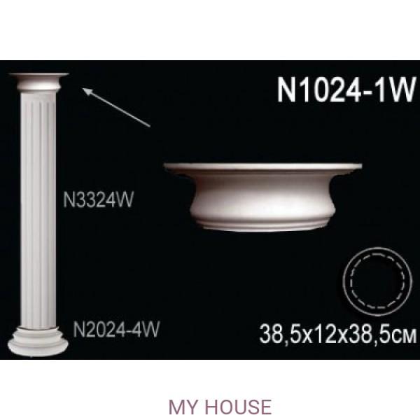 Капитель колонны Perfect N1024-1W