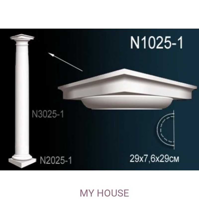 Лепнина Perfect N1025-1 производства Perfect