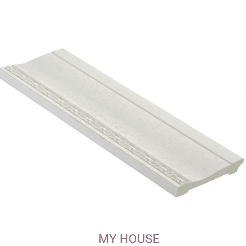 Лепнина Белый матовый  [Цвет 16] 195-16 производства Decomaster