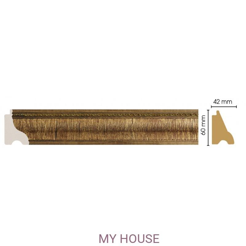 Лепнина Орех  [Цвет 3] 175-3 производства Decomaster