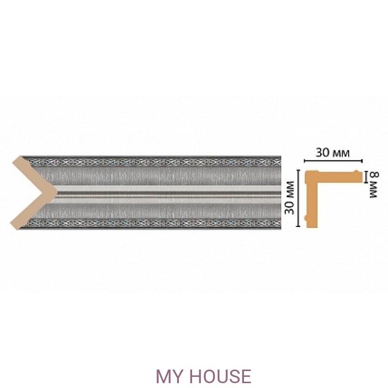 Лепнина Серебристый металлик  [Цвет 55] 116-55 производства DECOMASTER РОССИЯ