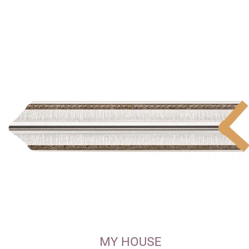 Лепнина Серебристый металлик  [Цвет 55] 142-55 производства Decomaster