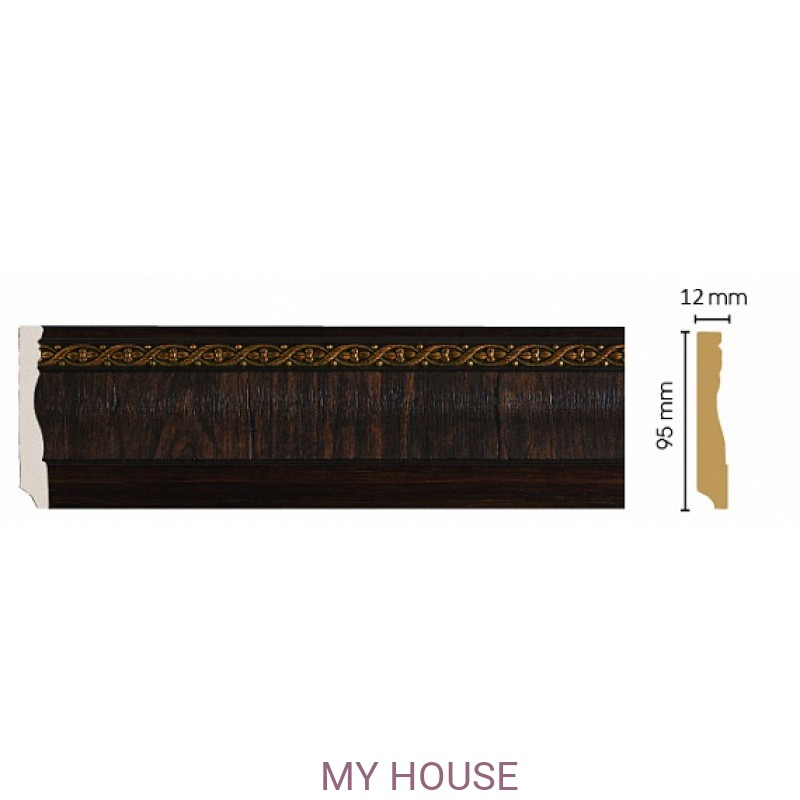 Лепнина Темный шоколад [Цвет 1] 153-1 производства Decomaster