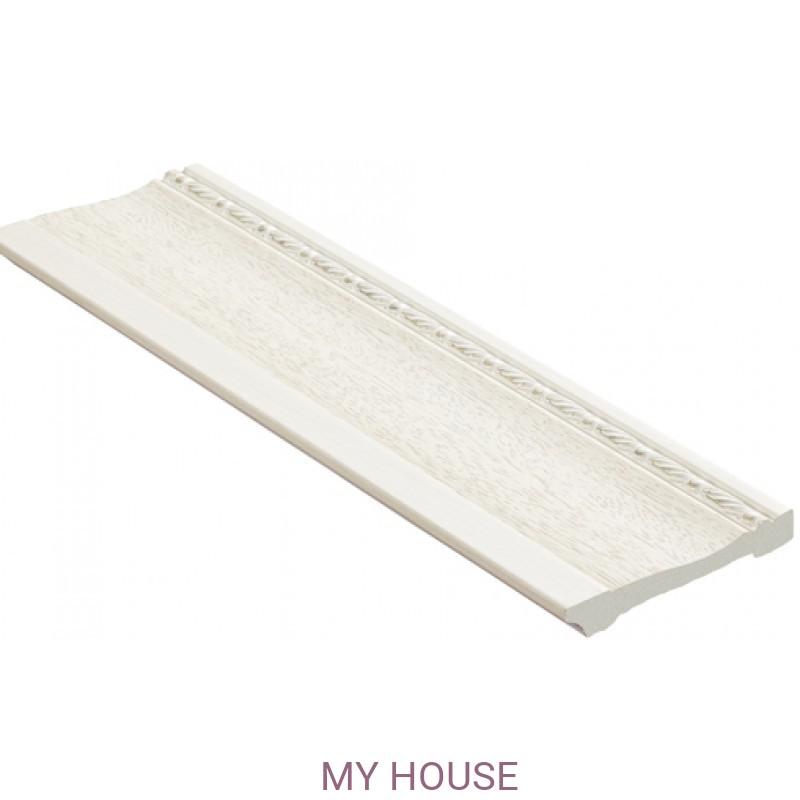 Лепнина Ясень белый  [Цвет 15] 195-15 производства Decomaster