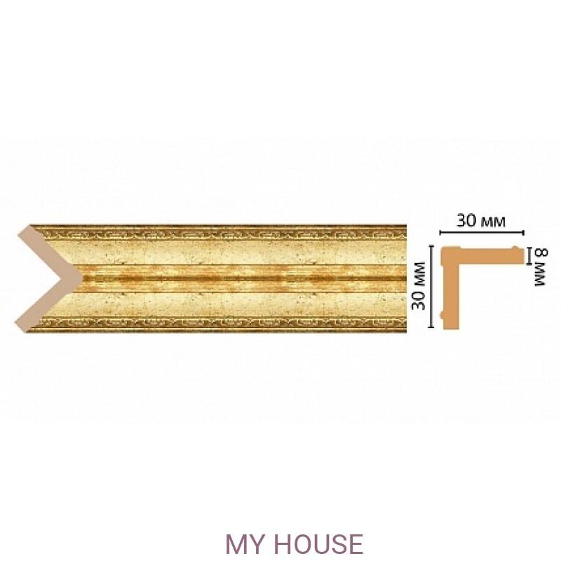 Лепнина Золотой глянец  [Цвет 126] 116-126 производства DECOMASTER РОССИЯ