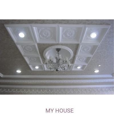 Кессонные потолки из полиуретановой лепнины